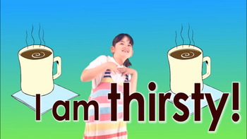 I Am Thirsty! Song, Video, Game & Flashcards Bundle