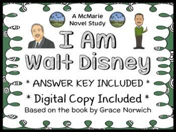 I Am Walt Disney (Grace Norwich) Book Study / Comprehensio