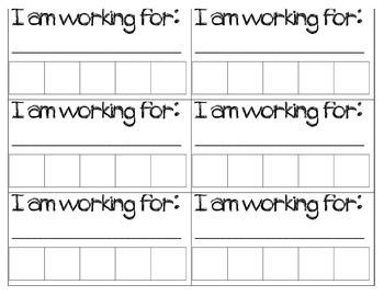 I Am Working For Student Desk Labels