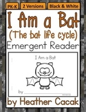 I Am a Bat Life Cycle Emergent Reader Mini Book (Science &