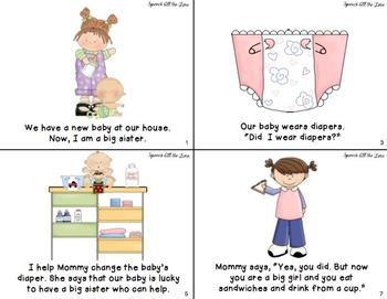 I Am a Big Sister & I Am a Big Brother Mini Books Pack