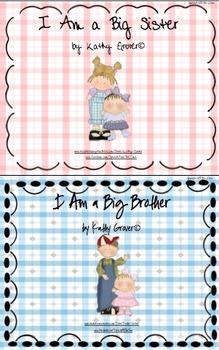 I Am a Big Sister & I Am a Big Brother Mini Books Pack