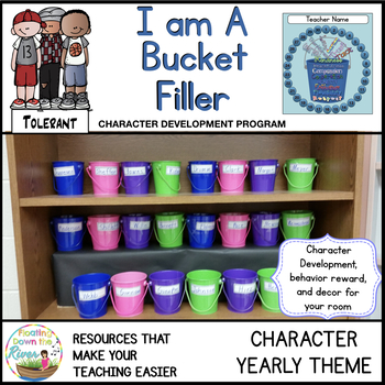 I Am a Bucket Filler Character Theme of the Year/Decor
