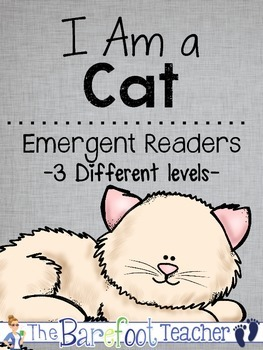 I Am a Cat Emergent Readers