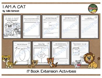I Am a Cat by Galia Bernstein 17 Book Extension Activities NO PREP