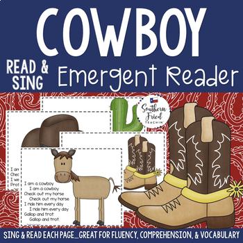 Cowboy Emergent Reader