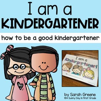 I Am a Kindergartener! {mini book}