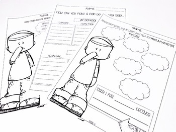 I Can Be a Leader Activity Worksheets