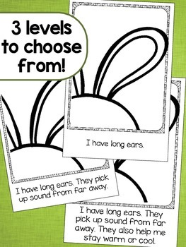 I Am a Rabbit Emergent Readers