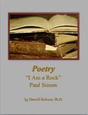 """I Am a Rock"" -- Paul Simon -- Poetry"