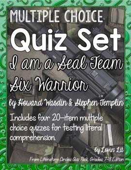 I Am a Seal Team Six Warrior Quiz Set