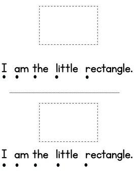 I Am a Shape Math and Level A Reader