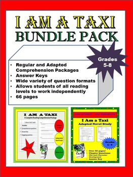 I Am a Taxi BUNDLE PACK
