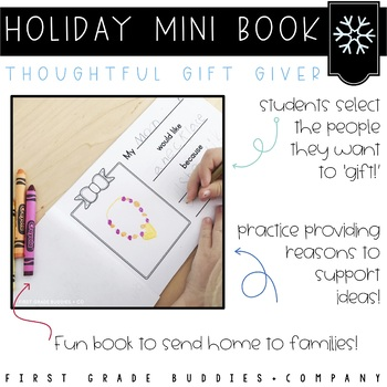 Christmas Activities | Christmas Writing | Holiday Mini Book | Opinion Writing