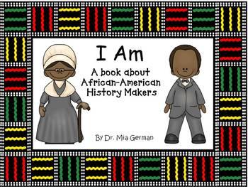 Black History Month Book  (I AM)