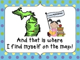 I Am on the Map of Michigan Make and Take Book