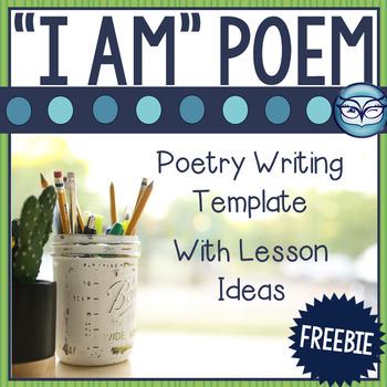 """I Am"" poem template"