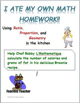 I Ate My Own Math Homework!