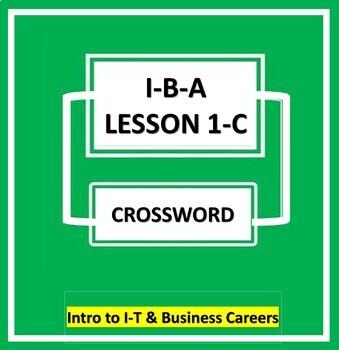 I-B-A Lesson/Ch #1-C  {Crossword Puzzle}