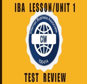 I-B-A Lesson/Ch #1  {Power Point}
