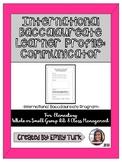 I.B. Learner Profile: Communicator