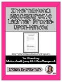 I.B. Learner Profile: Open-Minded