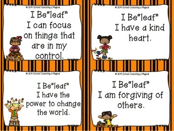 """I Be-Leaf"" Positive Affirmations"