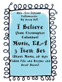 I Believe (from Christopher Columbus) Music, ELA 3 Item Set