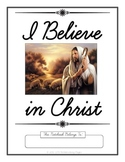 I Believe in Christ Copywork Notebook
