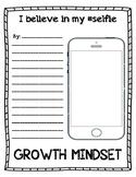 I Believe in my Selfie--Growth Mindset Writing Activities