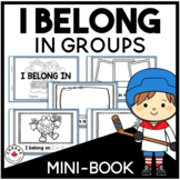 I Belong in Groups Mini-Book | Alberta Curriculum