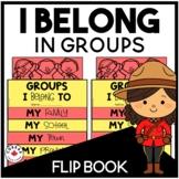 I Belong in Groups Flip Book | Alberta Curriculum