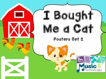 I Bought Me a Cat Posters-Set 2