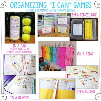1st Grade Math Centers | 1st Grade Math Games BUNDLE