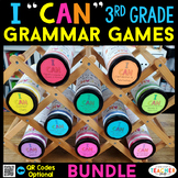 3rd Grade Grammar Games 3rd Grade Grammar Centers BUNDLE