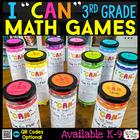 3rd Grade Math Centers - 3rd Grade Math Games BUNDLE {ALL Standards}