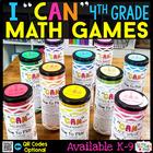 Fourth Grade Math Centers - Math Games BUNDLE
