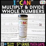 5th Grade Multiplication and Division Game