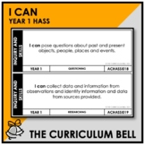I CAN | AUSTRALIAN CURRICULUM | YEAR 1 HASS