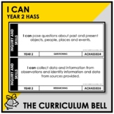 I CAN | AUSTRALIAN CURRICULUM | YEAR 2 HASS