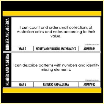 I CAN   AUSTRALIAN CURRICULUM   YEAR 2 MATHEMATICS