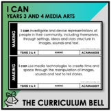 I CAN | AUSTRALIAN CURRICULUM | YEARS 3 AND 4 MEDIA ARTS
