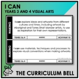 I CAN | AUSTRALIAN CURRICULUM | YEARS 3 AND 4 VISUAL ARTS