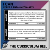 I CAN | AUSTRALIAN CURRICULUM | YEARS 5 AND 6 MEDIA ARTS