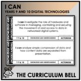 I CAN | AUSTRALIAN CURRICULUM | YEARS 9 AND 10 DIGITAL TEC