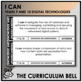 I CAN | AUSTRALIAN CURRICULUM | YEARS 9 AND 10 DIGITAL TEC