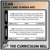 I CAN | AUSTRALIAN CURRICULUM | YEARS 9 AND 10 MEDIA ARTS