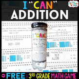3rd Grade Addition Game 3rd Grade Math Centers FREE