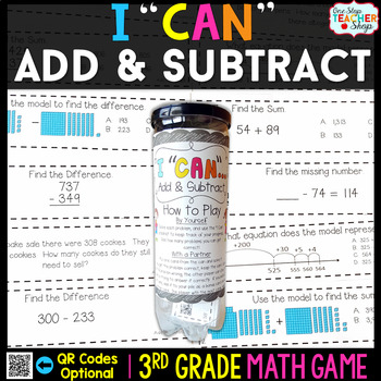 3rd Grade Addition and Subtraction Game - 3rd Grade Math G