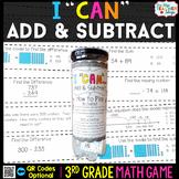 3rd Grade Addition & Subtraction Game 3rd Grade Math Cente